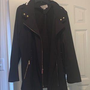 Michael kors coat w/ gold zippers
